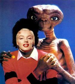 Michael Jackson avec ET, Michael Jackson montage de votre photo.