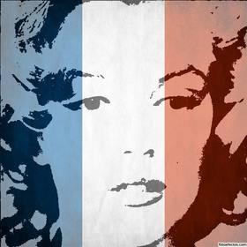 Drapeau de la France à mettre dans votre photo et de soutien #tousommesParis.