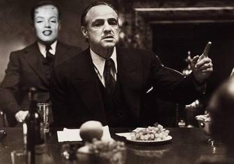 Photomontage pour faire partie du film The Godfather