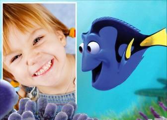 Personnalisable avec effet Dory de Finding Nemo
