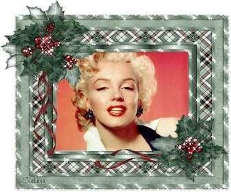 Animé carte de Noël, personnalisable avec votre photo et Noël brille.