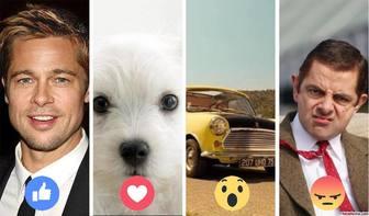 collage avec reactions facebook pour plusieurs photos