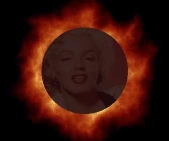 """Personnaliser l""""animation éclipse solaire pouvez faire avec votre photo en ligne."""
