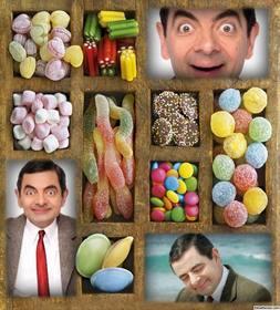 collage pour les bonbons amateurs telecharger trois photos