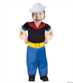 Montage dune ligne déguisement de Popeye the Sailor Man pour les enfants