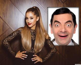 Effet photo avec Ariana Grande de mettre votre photo.