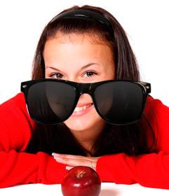 Autocollant de lunettes de soleil