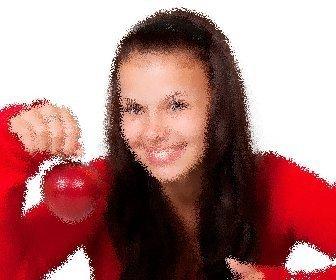 """Jouer à appliquer ce filtre à l""""image de sautillement. Votre photographie numérique déformée comme à travers un verre robuste, avec soulagement, que le portail ou salle de bains."""
