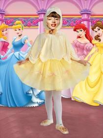 Effet photo du petit costume de princesse pour les filles