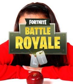 Logo du jeu Fortnite à mettre dans votre photo
