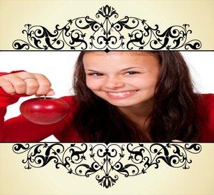 ornement victorienne pour embellir vos photos gratuitement