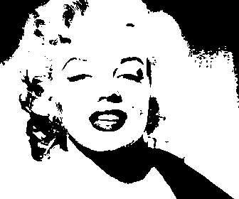 Style art Montage photo pop avec un fond jaune.