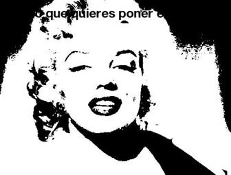 Filtre pour les photos en noir et blanc comme le style che guevara.