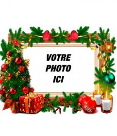 "Un cadre photo qui n""a besoin d""aucun ornement de Noël"