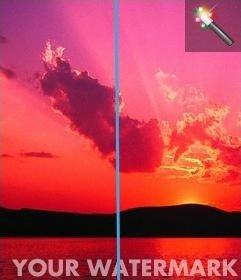 Ajouter un filigrane à vos photos en ligne et personnalisé. Cest gratuit