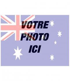 """Photo montage de mettre le drapeau de l""""Australie avec votre photo"""