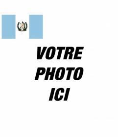Avatar avec le drapeau du Guatemala à personnaliser votre profil Facebook