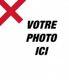 Effet photo pour ajouter le drapeau de lAngleterre sur vos images