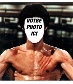 Placez votre visage sur le corps de Bruce Lee avec ce