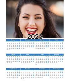 Calendrier 2019 année complète 12 mois avec votre photo