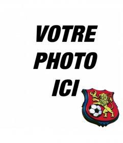 Placez le bouclier de Deportivo de Caracas dans votre photo