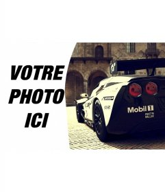 Composition avec Corvette Racing aux c�-tés de votre image.