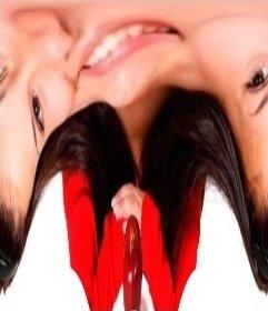 DEFORM photos en ligne qui font un effet de distorsion déforme limage