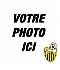 Photomontage avec Deportivo Tachira FC bouclier pour faire un collage avec vos photos