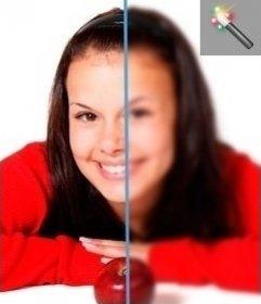 Filtre à brouiller les photos en ligne