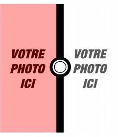 Photomontage pour deux photos de Pokémon
