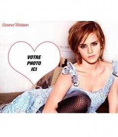 Photomontage avec Emma Watson