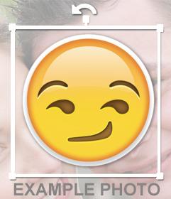 Autocollant du emoji rogue de WhatsApp pour votre effet de photos