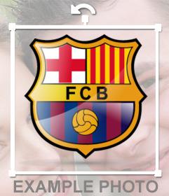 Collez le logo Barca à vos photos avec cet autocollant officiel de joint