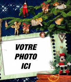 Photomontage de Noël pour décorer votre photo