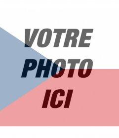 Filtre de drapeau République tchèque à ajouter à vos photos
