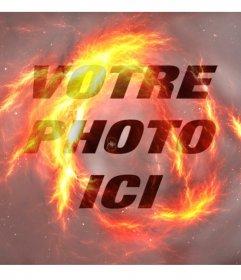 Filtre feu pour faire vos photos ressemblent à feu
