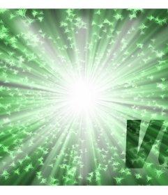 Filtre vert clair pour ajouter à vos photos en ligne