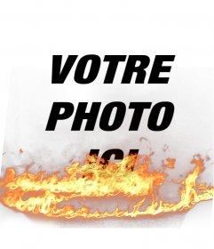 Mettez-les à vos photos un effet de flamme, parfaite pour pimenter vos photos de profil!
