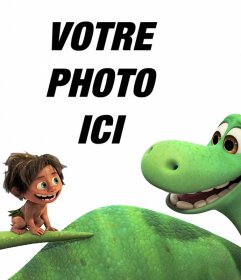 Effet photo du film A Great Dinosaur faire avec votre photo