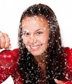Filtre pour ajouter un effet de neige sur vos photos et gratuit