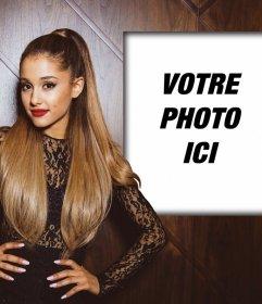 Effet photo avec Ariana Grande de mettre votre photo
