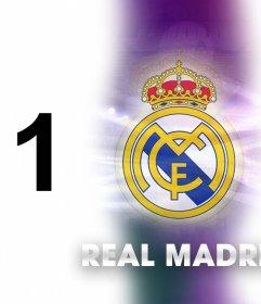 Ajouter deux photos pour ce collage du Real Madrid
