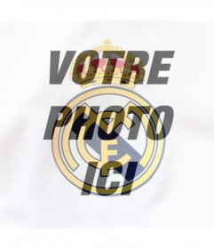 Photo pour effet de mettre le bouclier Real Madrid sur votre photo