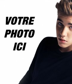 Téléchargez votre photo à côté de Justin Bieber. effet
