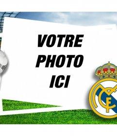 Cadre photo pour les fans du Real Madrid pour récupérer avec votre photo