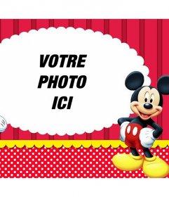 Effet photo avec Mickey et Minnie de télécharger votre photo préférée