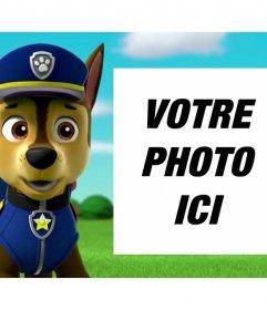 Canine Patrol effet photo pour télécharger une photo
