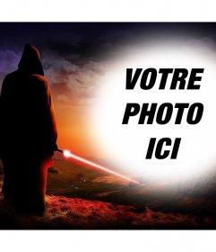 Effet photo de Star Wars pour télécharger une photo