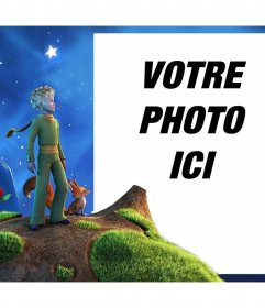 Cadre photo conte Le Petit Prince