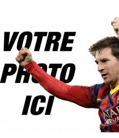 Photomontage avec Messi Barca pour mettre votre photo